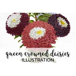 Queen Crowned Daisies
