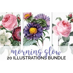 Watercolor Flowers Volume 01 (qty 20)