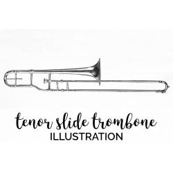 Tenor Slide Trombone