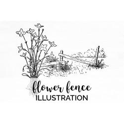 flower fence