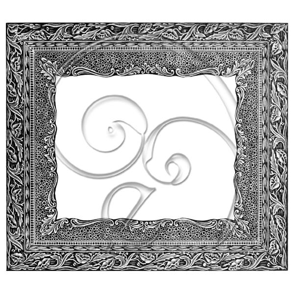 Vintage no109 Ornate Frame (free download) | Enliven Designs