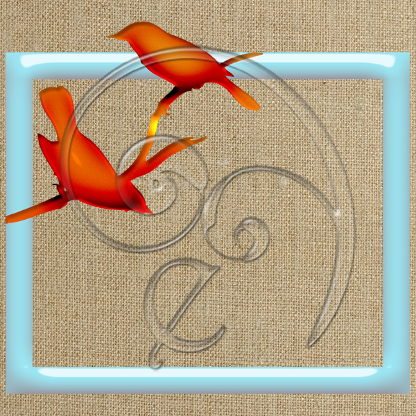 plastic bird silhouette frames (free download) | Enliven Designs