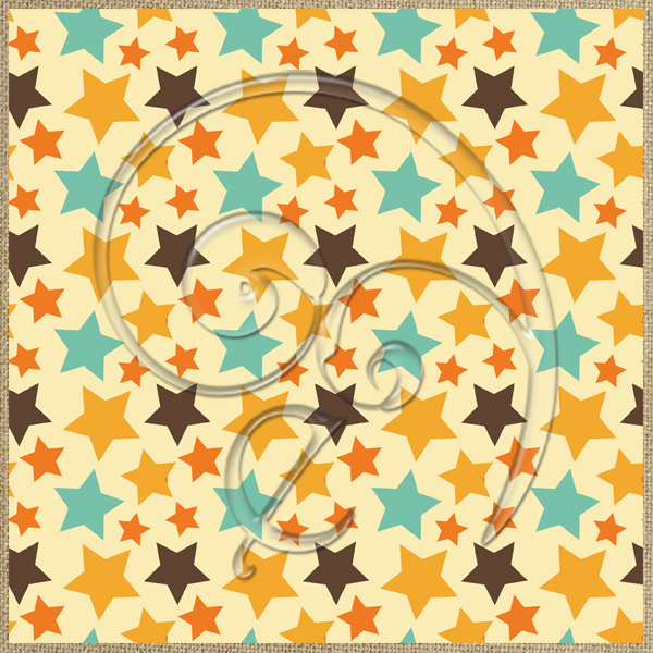 "Free scrapbook paper ""Stars"" from enlivendesigns.us"