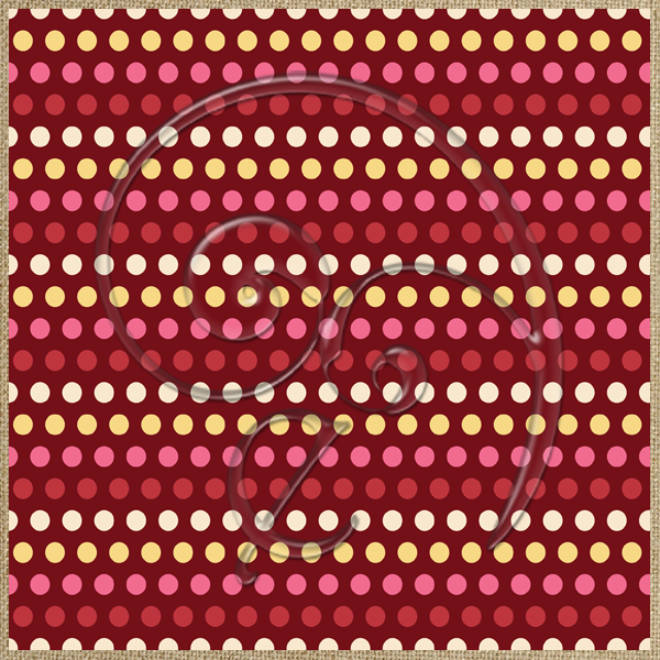 "Free scrapbook background ""Renza Dots"" from enlivendesigns.us"