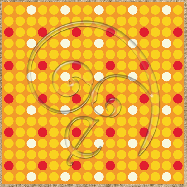 "Free background ""Sunset Dots"" from enlivendesigns.us"