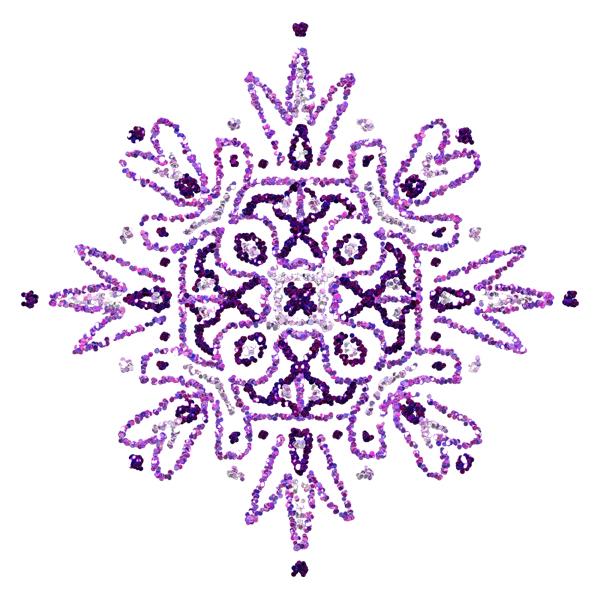 purple glitter pendant (free graphics)
