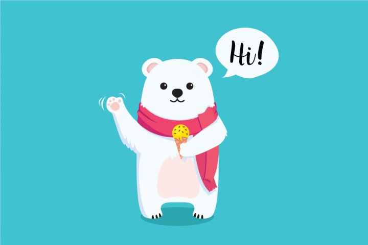Free Adorable Bear CU