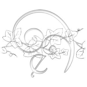 [Embroidery_Line_Art]105 Ivy Leaf (free download)