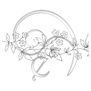 [Embroidery_Line_Art]114 ForgetNot (free download)