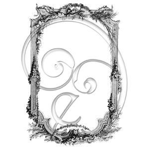 Vintage Floral Intricate Frame (free download)
